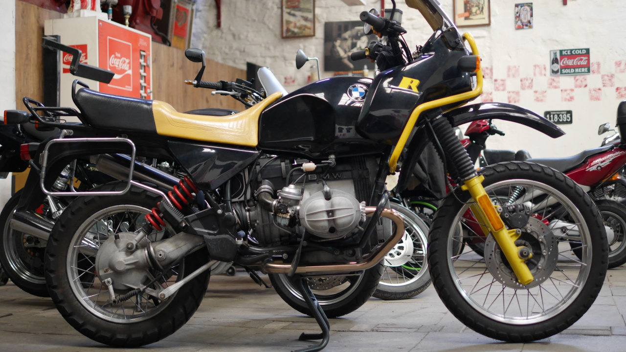 Bmw R80 Gs On Tour